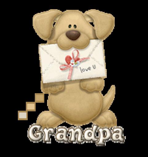 Grandpa - PuppyLoveULetter