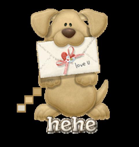 hehe - PuppyLoveULetter