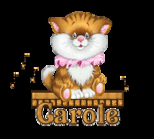 Carole - CuteKittenSitting