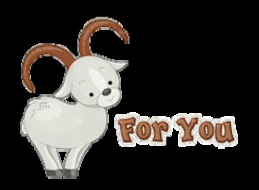 For You - BighornSheep