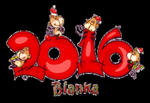 Bianka - 2016WithMonkeys