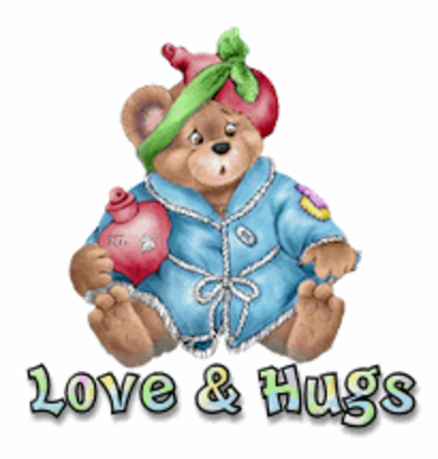 Love & Hugs - BearGetWellSoon