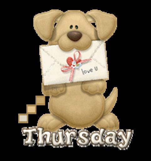 DOTW Thursday - PuppyLoveULetter