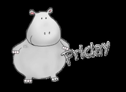DOTW Friday - CuteHippo2018