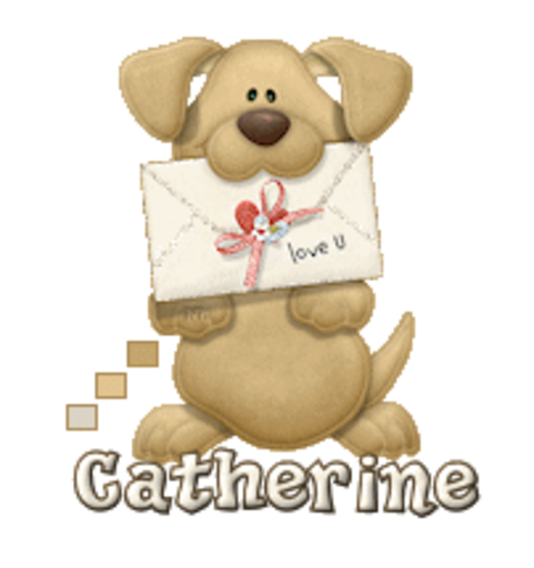 Catherine - PuppyLoveULetter