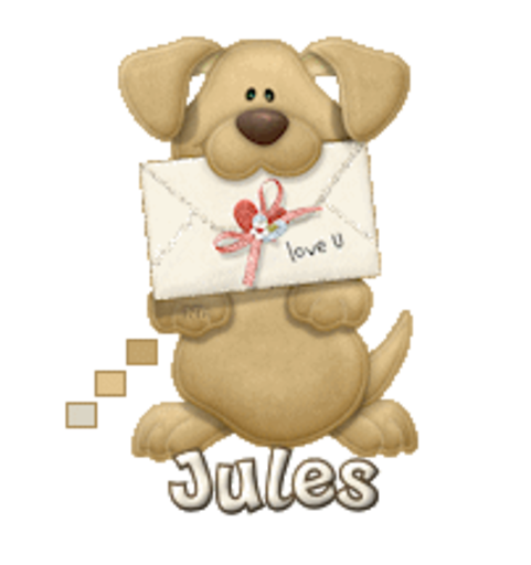 Jules - PuppyLoveULetter