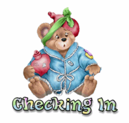 Checking In - BearGetWellSoon