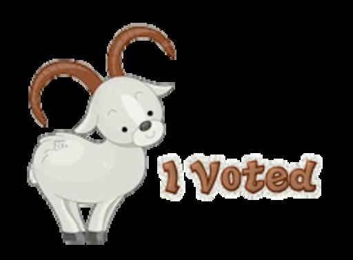 I Voted - BighornSheep
