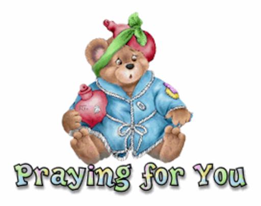Praying for You - BearGetWellSoon