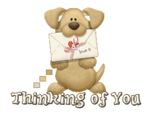 Thinking of You - PuppyLoveULetter