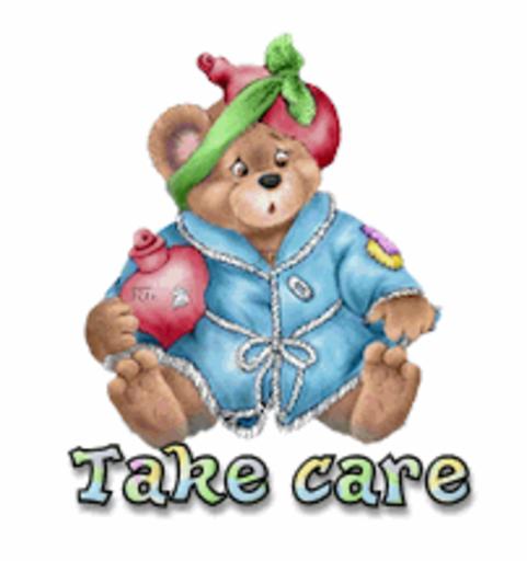 Take care - BearGetWellSoon
