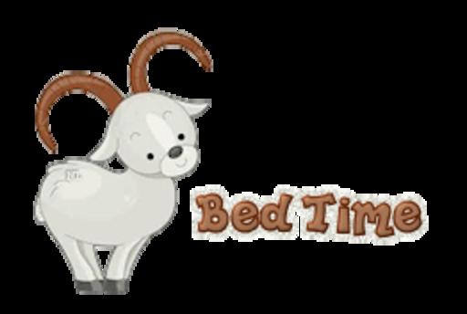 Bed Time - BighornSheep