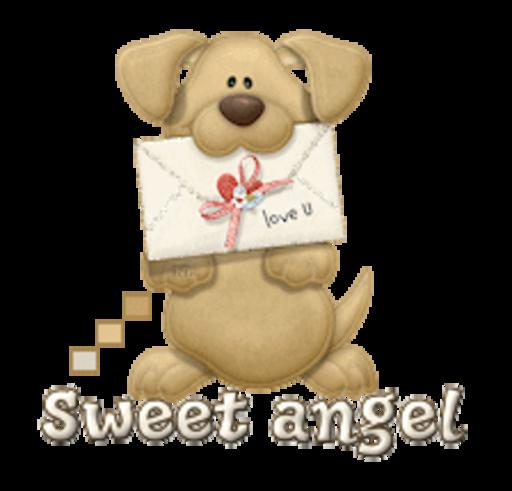 Sweet angel - PuppyLoveULetter