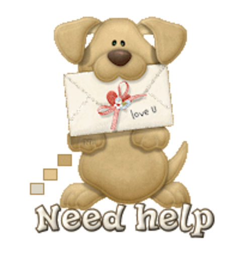 Need help - PuppyLoveULetter