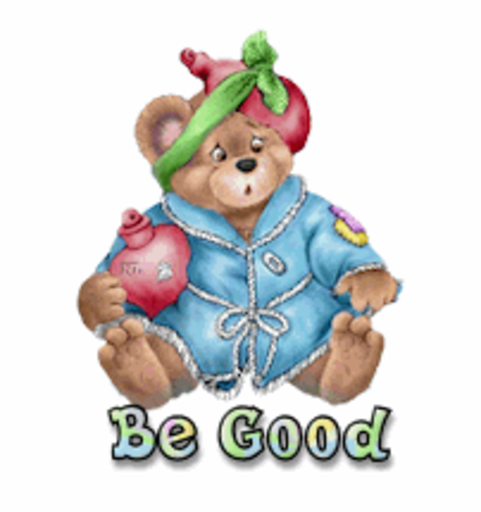 Be Good - BearGetWellSoon