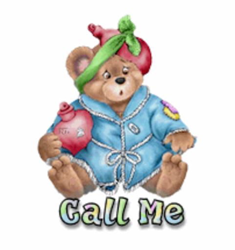 Call Me - BearGetWellSoon