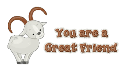 You are a Great Friend - BighornSheep