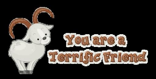 You are a Terrific Friend - BighornSheep