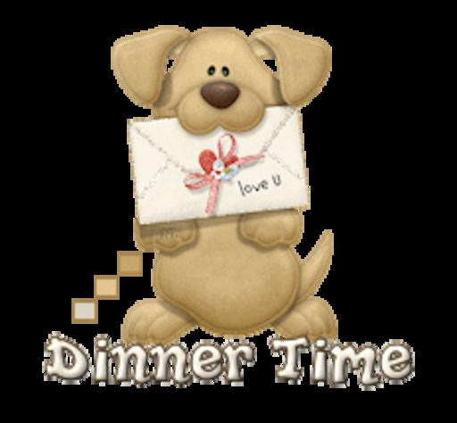 Dinner Time - PuppyLoveULetter