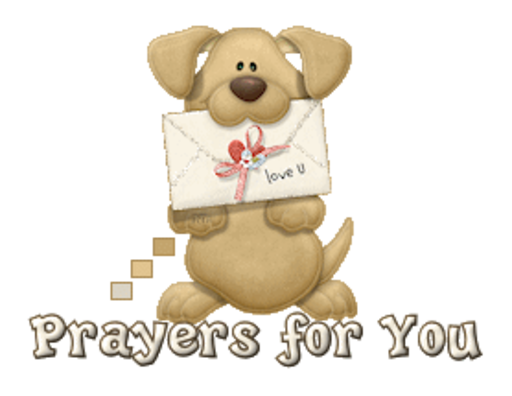 Prayers for You - PuppyLoveULetter