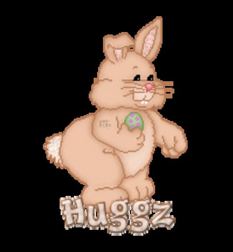Huggz - BunnyWithEgg