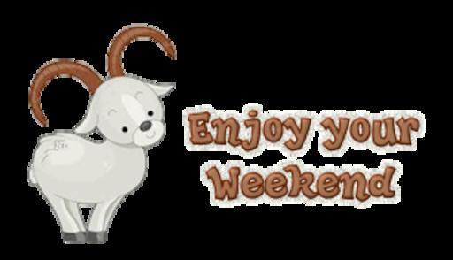 Enjoy your Weekend - BighornSheep