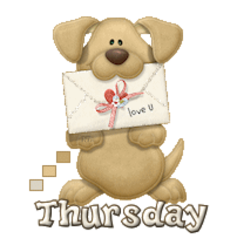 DOTW Thursday - PuppyLoveULetter