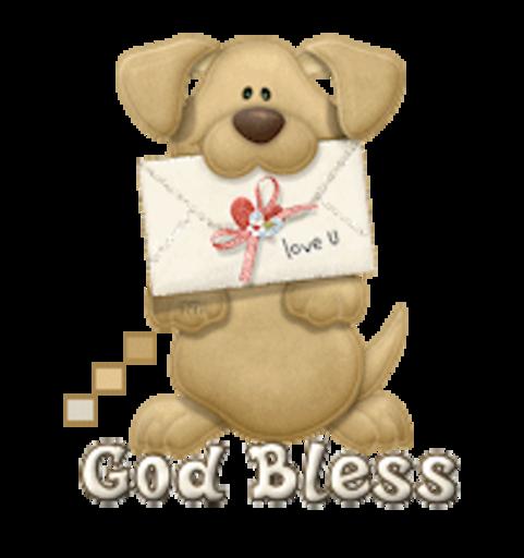 God Bless - PuppyLoveULetter