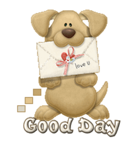 Good Day - PuppyLoveULetter