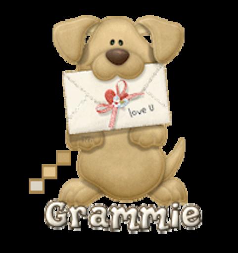 Grammie - PuppyLoveULetter