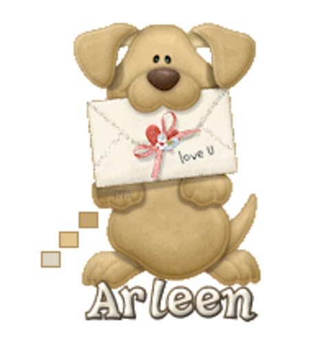 Arleen - PuppyLoveULetter