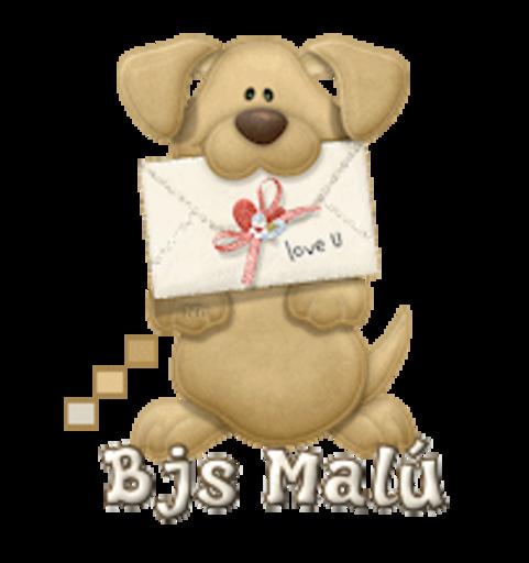 Bjs Malu (MC) - PuppyLoveULetter