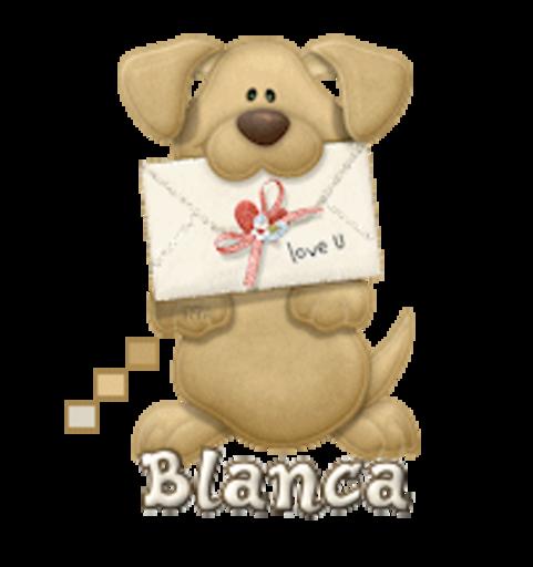 Blanca - PuppyLoveULetter