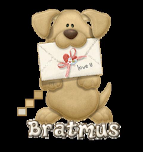 Bratmus - PuppyLoveULetter