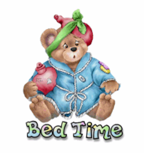 Bed Time - BearGetWellSoon