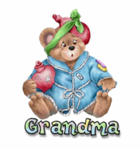 Grandma - BearGetWellSoon