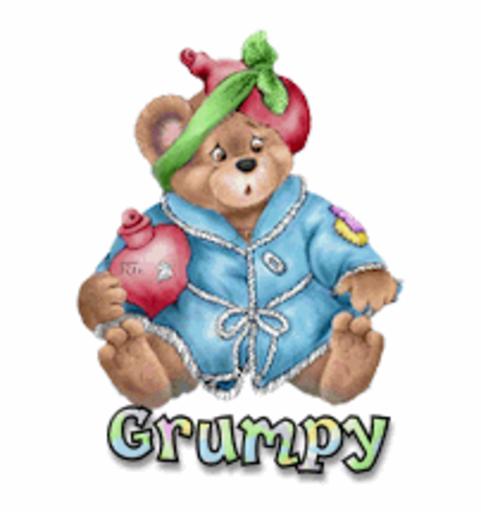 Grumpy - BearGetWellSoon