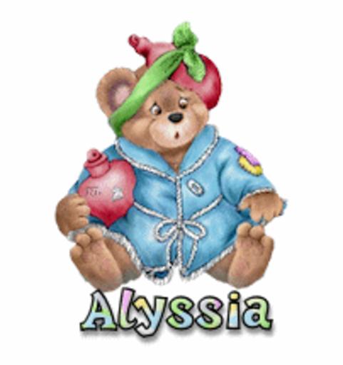 Alyssia - BearGetWellSoon