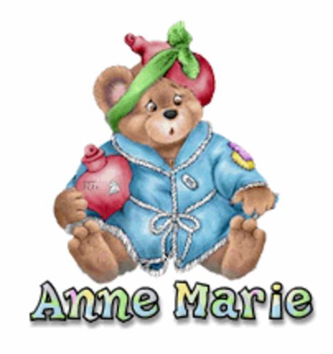 Anne Marie - BearGetWellSoon