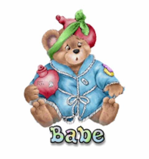 Babe - BearGetWellSoon