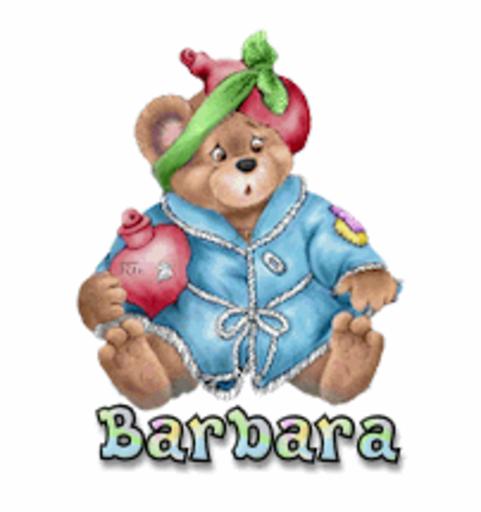 Barbara - BearGetWellSoon