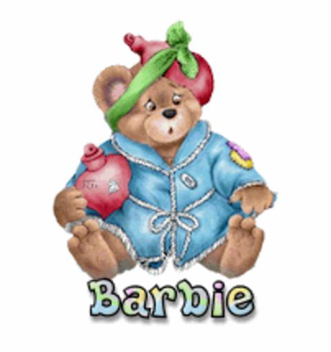 Barbie - BearGetWellSoon