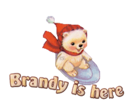 Brandy is here - WinterSlides