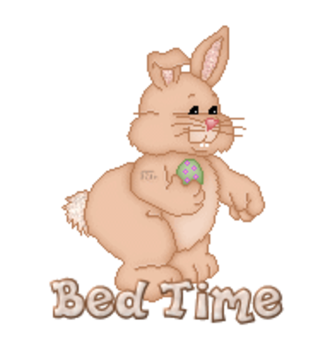 Bed Time - BunnyWithEgg