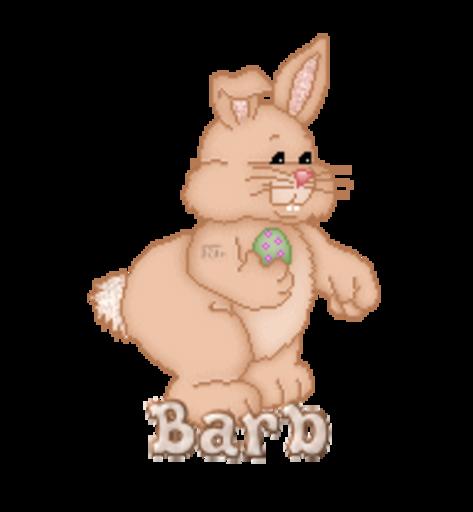 Barb - BunnyWithEgg