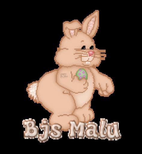 Bjs Malu - BunnyWithEgg
