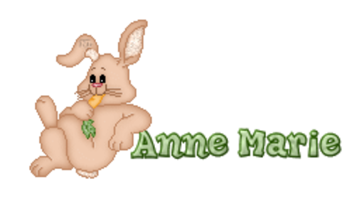 Anne Marie - BunnyWithCarrot