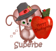 Superbe - ThanksgivingMouse