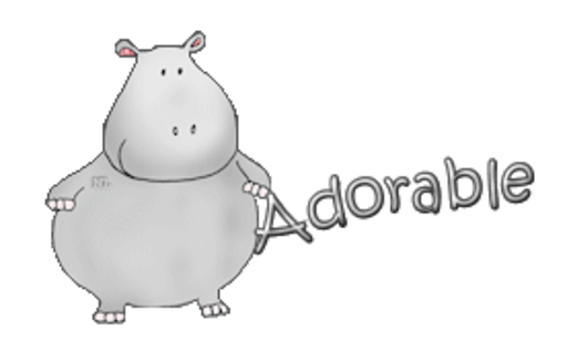 Adorable - CuteHippo2018