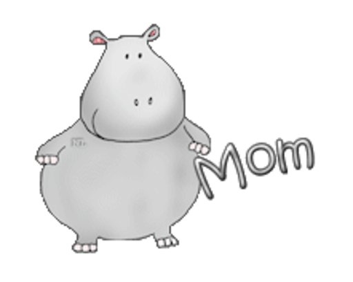 Mom - CuteHippo2018